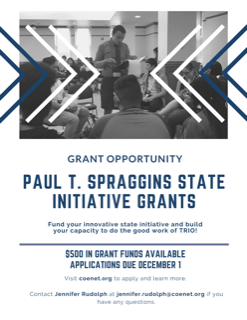 Paul Spraggins Grant Opportunity